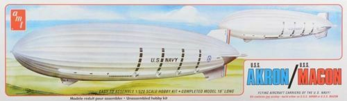 2015 AMT  892 892 1 520 USS Akron uss Macon Plastic Model Kit new in the box