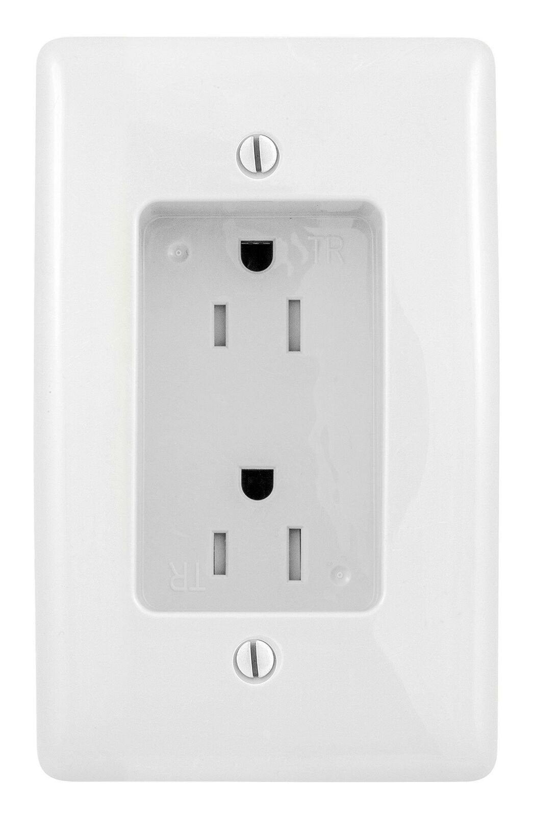 Bryant Electric Rr1510w Box Mount 1 Gang Recessed Tv Connection Outlet Plate Wit Electrical Outlets Receptacles Home Garden Worldenergy Ae