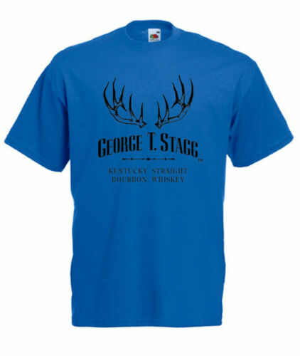 Mens T-Shirt Size S-3XL STAGG-Kentucky Straight Bourbon New GEORGE T