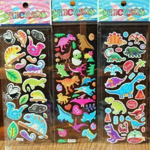 DIY Kawaii 3D Bubble Stickers Kawaii Cartoon Animal Kids V0Y3 Gift Best F6Z5