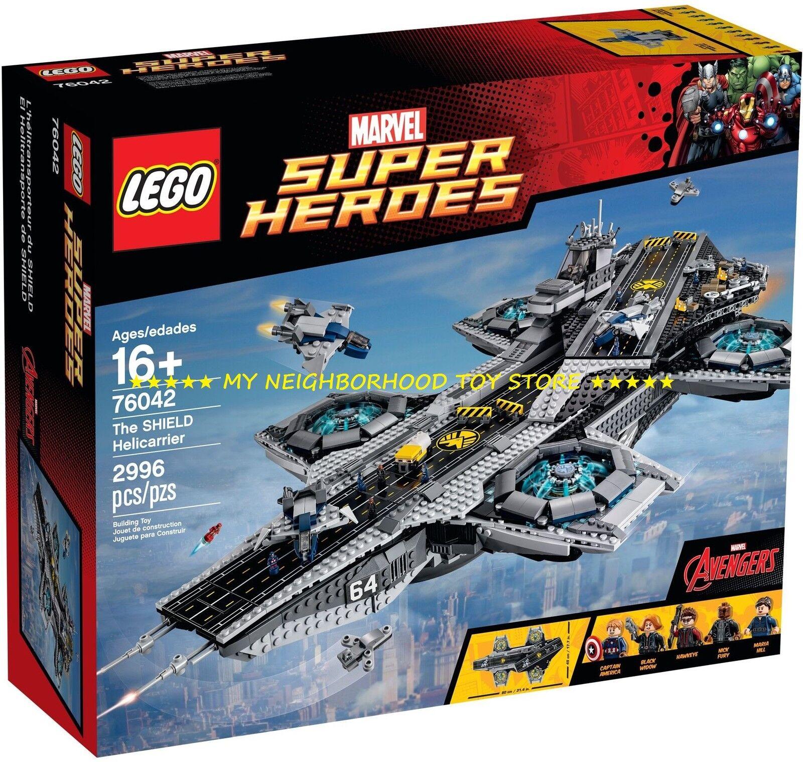RETIrojo - LEGO 76042 UCS MARVEL súper HEROES™ HELICocheRIER SHIELD (motorizzabile)