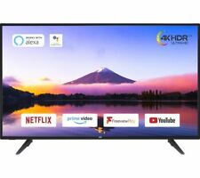 "JVC LT-55C800 55"" Smart 4K Ultra HD HDR LED TV - Black - Currys"