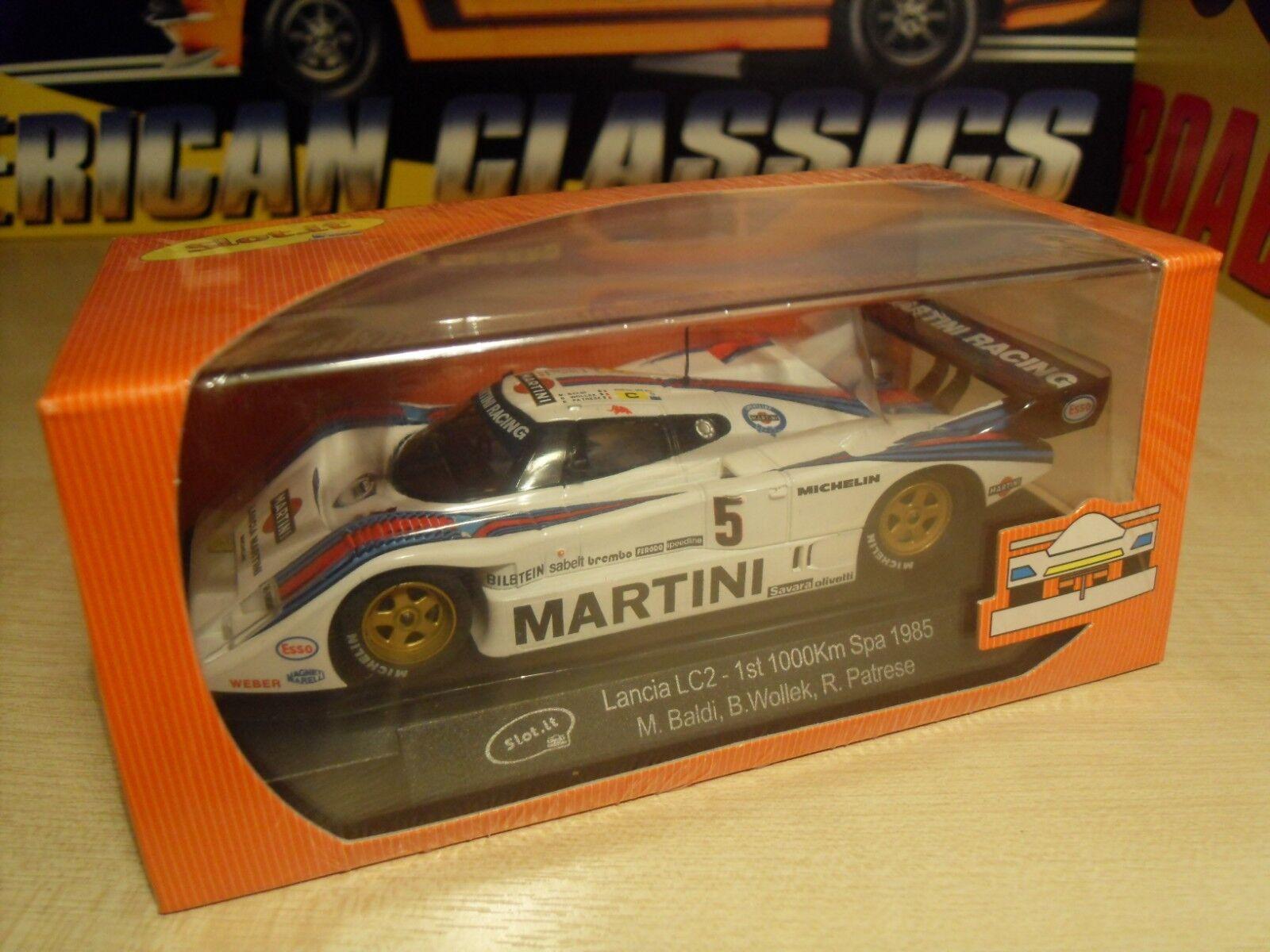 Slot it CA21B-LANCIA LC2  coche ganador 1000km Spa 1985  - todavía sellado de fábrica.