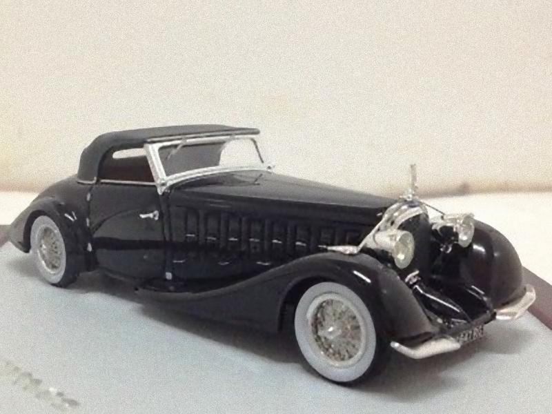 CHROMES CH43 - Voisin C15 Saliot Roadster 1934 nero 1 43