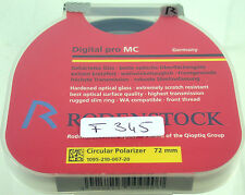 Rodenstock Polfilter Filter Lens Polarizing Polarizer Circular 72mm 72 E72 f345