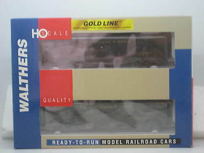 HO  C&O-STYLE TROOP SLEEPER CONVERSION EXPRESS CAR 2PK #932-24166 WALTHERS