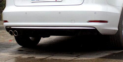 For Audi A3 8V 2012-2015 Sedan Stainless Steel Rear Bumper Molding Cover Trim