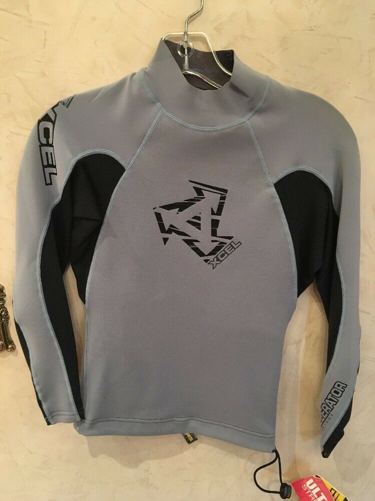 XCEL Neo Lycra MEN'S Wetsuit Long Sleeve Top, Extra Small