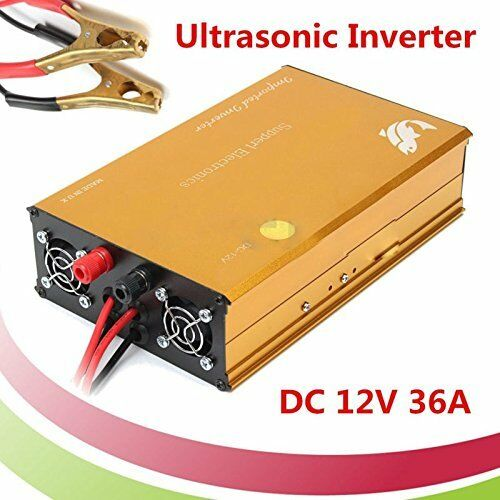 Nuevo 4000W inversor ultrasónica 12V máquina de pesca Electro peces paralizadora 1030SMP