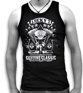 Biker-USA-Lucky-7-Genuine-Classic-Mens-Sleeveless-Muscle-T-Tank-Top-Vest