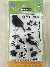 Hero Arts Color Layering Bird and Branch Cl866 Clear STAMPS A2z Scrapbooking