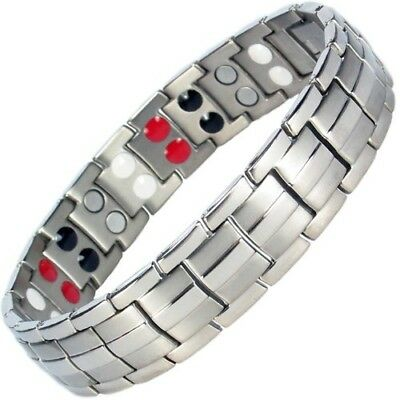 Mens Anium Magnetic Bracelet X Small