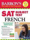 SAT Subject Test French von Renee White und Sylvie Bouvier (2013, Taschenbuch)