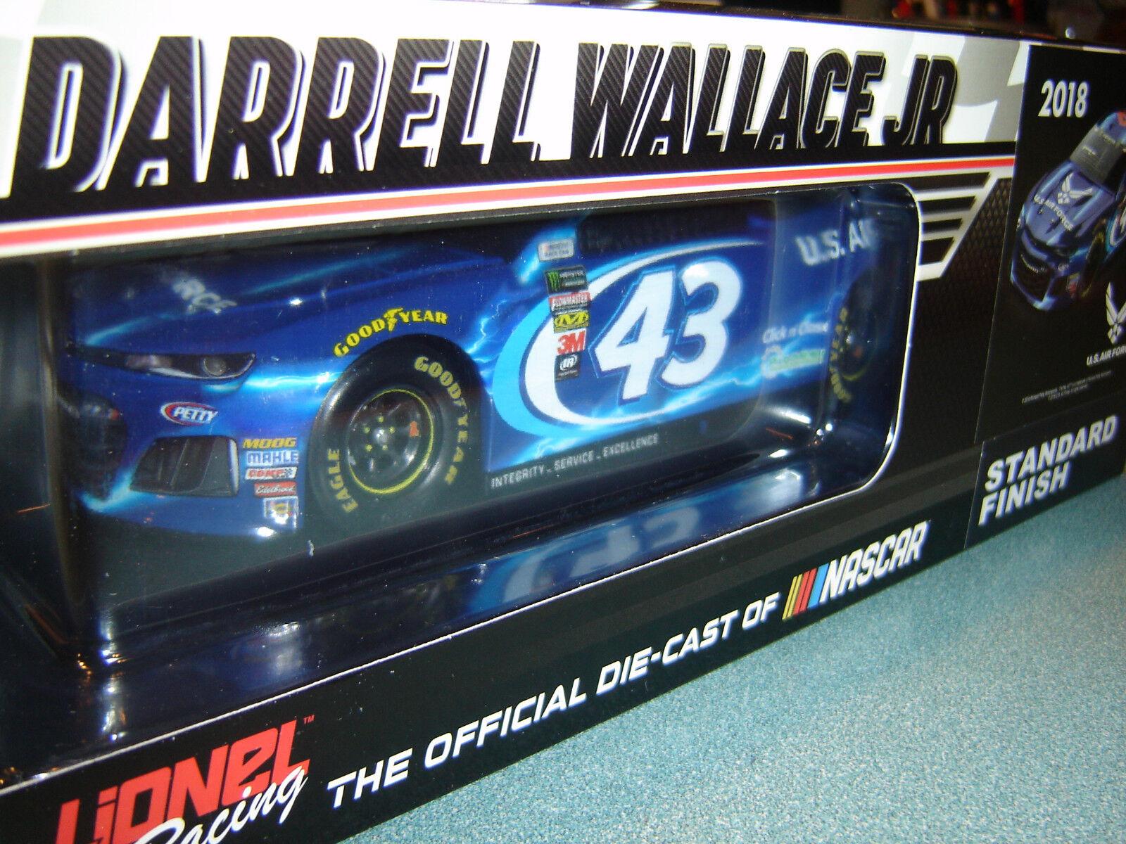 2018 Darrell Bubba Wallace Jr.  43 U.S.Air Force Camaro Neu Kostenloser Versand  | Erschwinglich