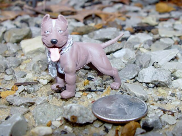 PIT BULL DOG STANDING GAURD G SCALE 1/18TH OR 1/24TH SCALE DIORAMA ACCESSORY!