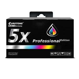 5x-Eurotone-PRO-Patrone-fuer-HP-DesignJet-1055-CM-1050-C