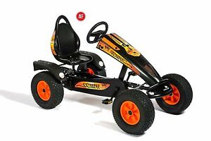 Dino Black Orange Pedal Go Kart Graffiti Enfants Enfants Adultes Allemand