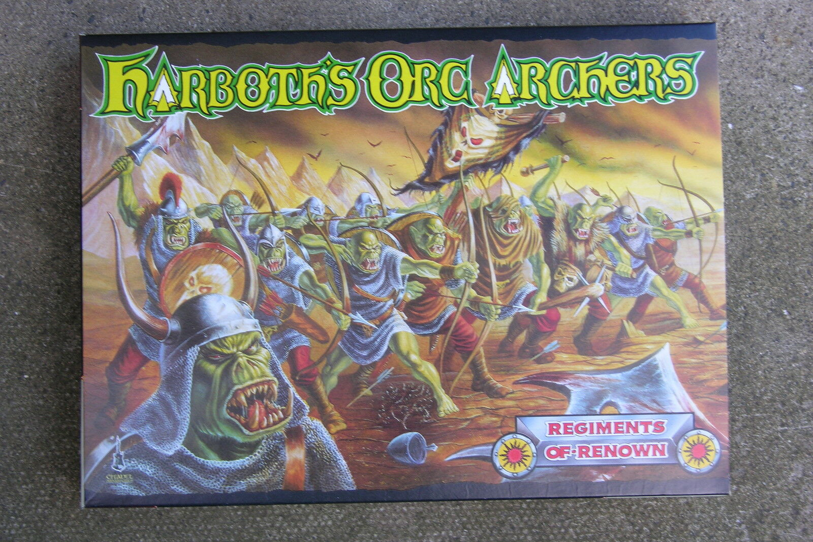 Warhammer harboth De Orco Arqueros BNIB