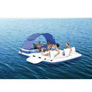 6-Person-Raft-Pool-Lake-River-Swim-Inflatable-Lounge-Float-Tube-Beach-Cooler