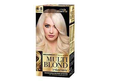 JOANNA MULTI BLOND INTENSIV HAIR LIGHTENER MASK 4-5 TONES PERMANENT COLOUR