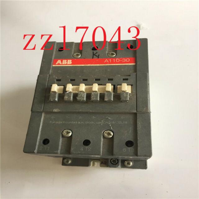 ABB A110-30 3 Pole 110-120 VAC Coil 3 Phase Contactor