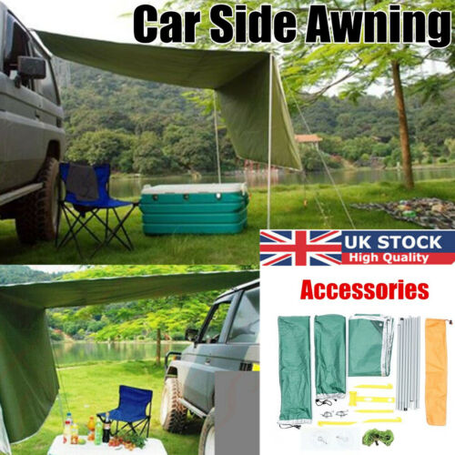 Universal Portable Car Roof Tent Waterproof Awning Sun Shelter Outdoor Camping