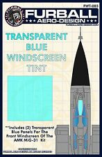 1/48 Furball MiG-31 Windscreen Tint for The AMK Kit