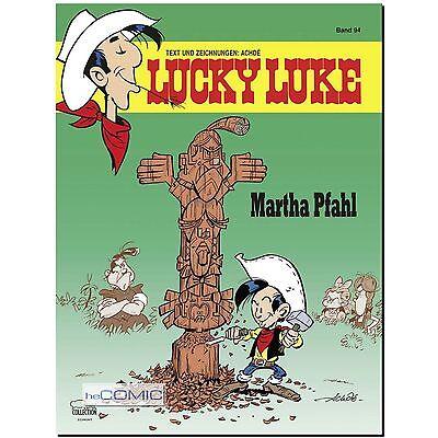Lucky Luke 94 Martha Pfahl HC BRANDNEU EHAPA FUNNY WESTERN KINDER COMIC 50er