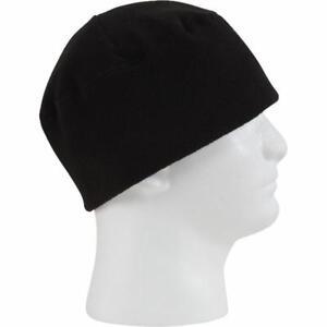 NEW US ARMY Polartec Fleece Watch Cap Hat BLACK Beanie COLD WEATHER ... ea8ffc0aa348