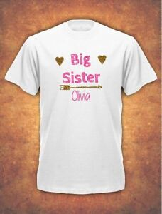 Image Is Loading Personalised Big Sister Birthday Present Gift Baby Childrens