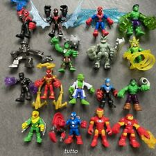 "2.5/"" Playskool Venom BLACK PANTHER  BOBA FETT Marvel Super Heroes Squad Figure"