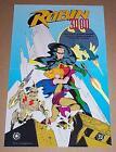 Original 1992 Robin 3000 DC Comics 17x11 comic art promo poster 1: Batman/1990's
