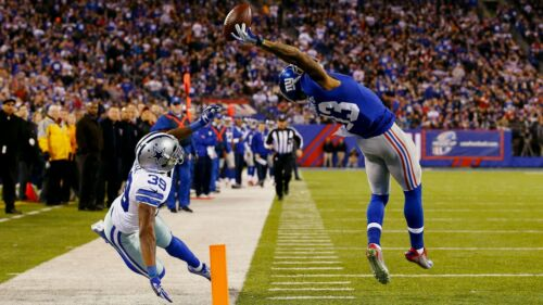 "The Catch Odell Beckham Jr New York Giants Wide Receiver HQ Sport Poster 24/""×36/"""