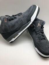 Nike Jordan Retro 3 GG Shoes NEW AUTHENTIC Dark Grey//Bronze 441140-035