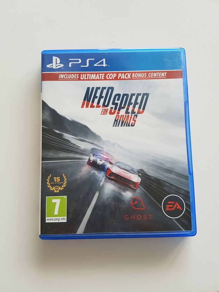 Need for Speed Rivals, PS4, racing