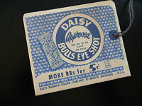 Daisy Bb Gun Hang Tag Envelope Reproduction , No. 25 Pump Gun (1950)