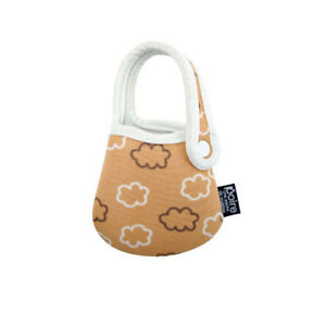 UNIVERSAL POIRE POUCH Holder - BROWN CLOUDS