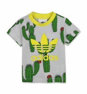 Details About Adidas Originals X Mini Rodini Cactus Tee T Shirt Sz 3t Bq4452 Brand New W Tag