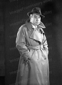 "BRODERICK CRAWFORD HIGHWAY PATROL 8/"" X 10/"" GLOSSY PHOTO REPRINT"