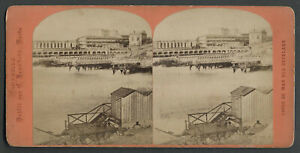 Marseille-France-1872-Stereo-View-Card-BATHS-ON-THE-SEA-Bathing-Place-Docks