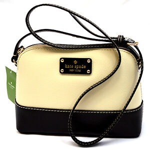 91cabae60e Details about NWT Kate Spade Hanna Wellesley or Berkeley Lane Genuine  Leather Cross body MINI