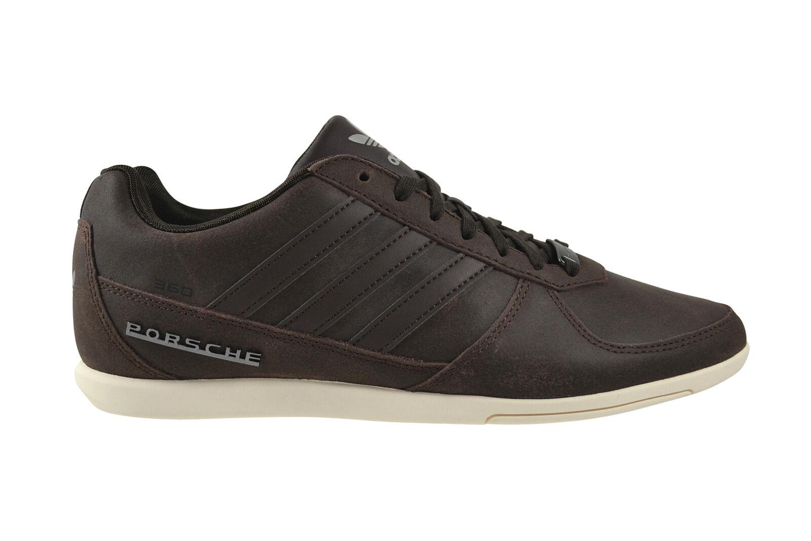 Adidas Porsche 360 1.2 Suede dark brown white Sneaker Schuhe braun S76103