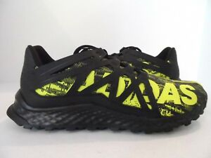 668a65d19 adidas Men s Vigor Bounce Trail Runner Black Shock Slime Black Size ...
