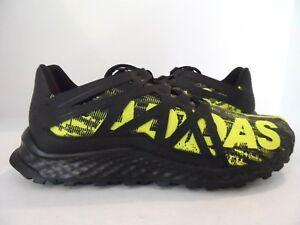 6735d7de649c99 adidas Men s Vigor Bounce Trail Runner Black Shock Slime Black Size ...