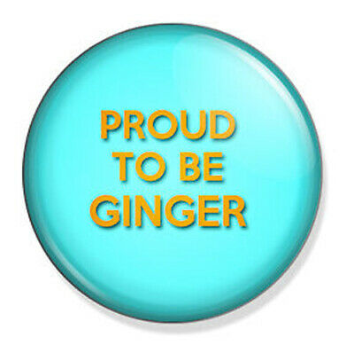 Ginger Humour It/'s Not Fancy Dress I Was Born Ginger 58mm Keyring
