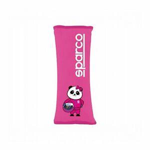 Gurtpolster Sparco Pads Panda XL Pink NEU!
