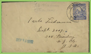 Barbados-1932-2-d-on-cover-to-USA