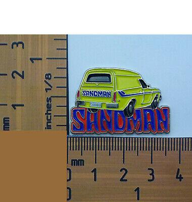 Holden Sandman Yellow Panel Van  Metal Lapel Pin Badge