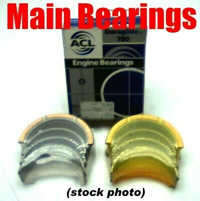 159-171-177 ACL Main Bearing Set Ford Prod 1972-90 4M860P-030 V6