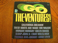 """THE VENTURES """"GO WITH"""" DOLTON BST8045 STEREO LP VG+ VINYL SURF"""